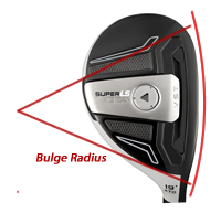 Golf Hybrid Head Bulge