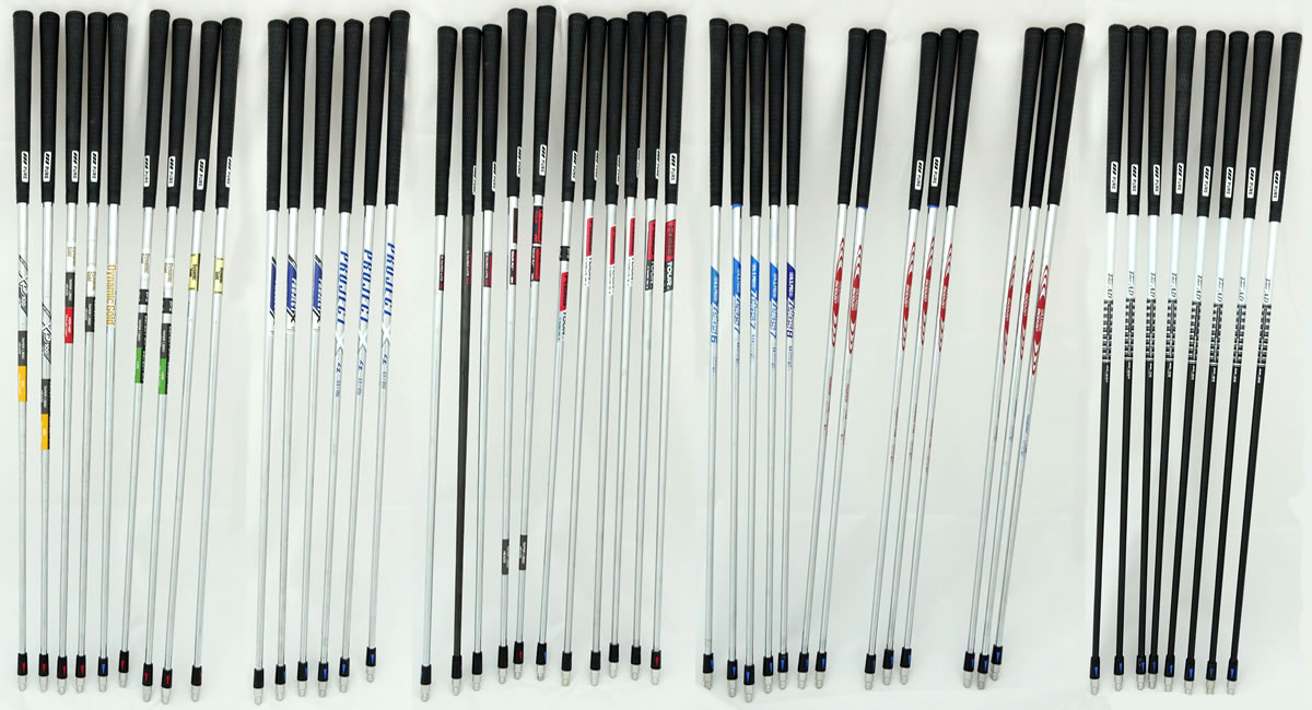 TaylorMade Iron Fitting Shafts